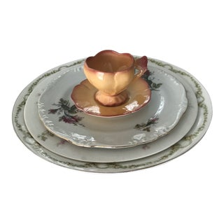 Vintage China Table Setting For Sale