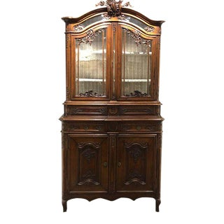 Antique French Buffet Deux Corps For Sale