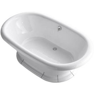Kohler Vintage Cast Iron Freestanding Bathtub For Sale