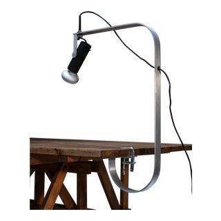 "Rare ""Balestra"" Clamp Lamp by Guido Rosati for Fontana Arte"