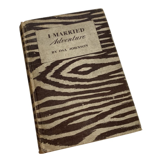 Antique Book I Married Adventure For Sale