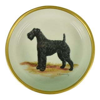 Frank Vosmansky for Abercrombie & Fitch Terrier Bowl For Sale