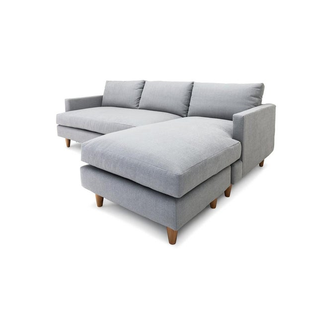 Clad Home Sectional Sofa With Reversible Chaise Chairish