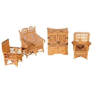 Doll House Furniture - A Set For Sale