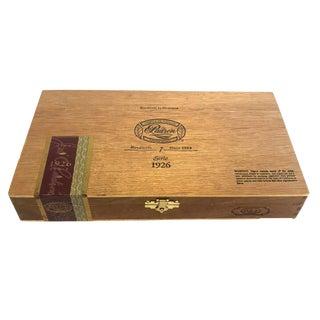 Nicaraguan Cigar Box With Brass Hinges