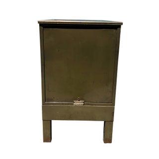 Vintage Industrial Addressograph Steel Metal 18-Drawer Catalogue File Cabinet Preview
