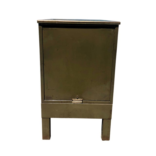 This vintage industrial steel 18-drawer catalogue file cabinet by Addressograph, has so much character to offer! This...