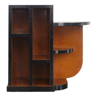 Late 20th Century Vintage Art Deco Style Shelf
