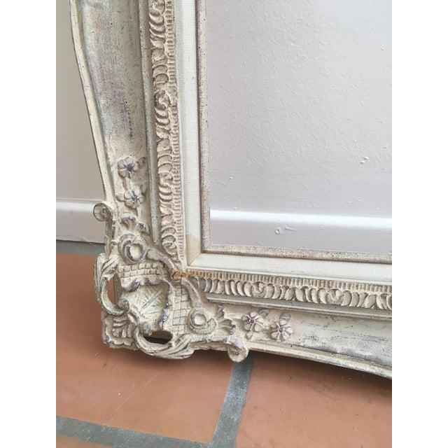 Vintage French Baroque White Art Frame 20x24\