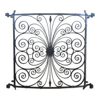 19th Century Traditional Cast Iron Window Grate