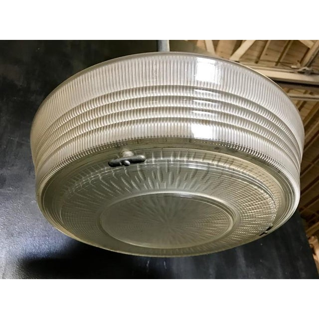 1950s Industrial Pendant Lighting, 1940s For Sale - Image 5 of 7