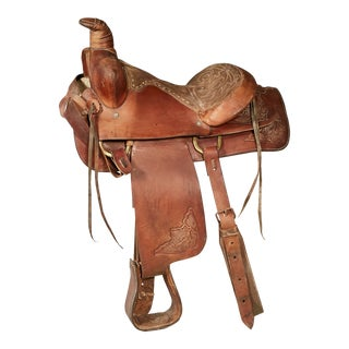 Leather Horse Saddle For Sale