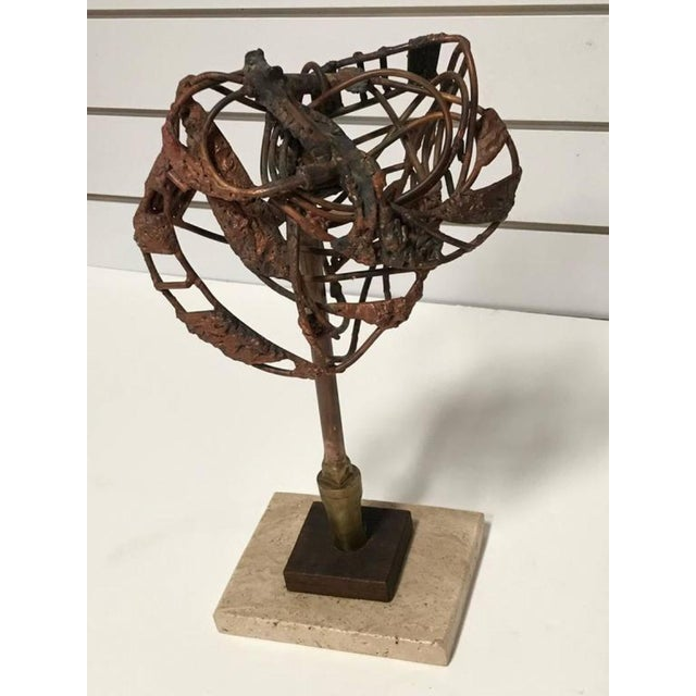 Brutalist George Mullen Sculpture For Sale - Image 4 of 5