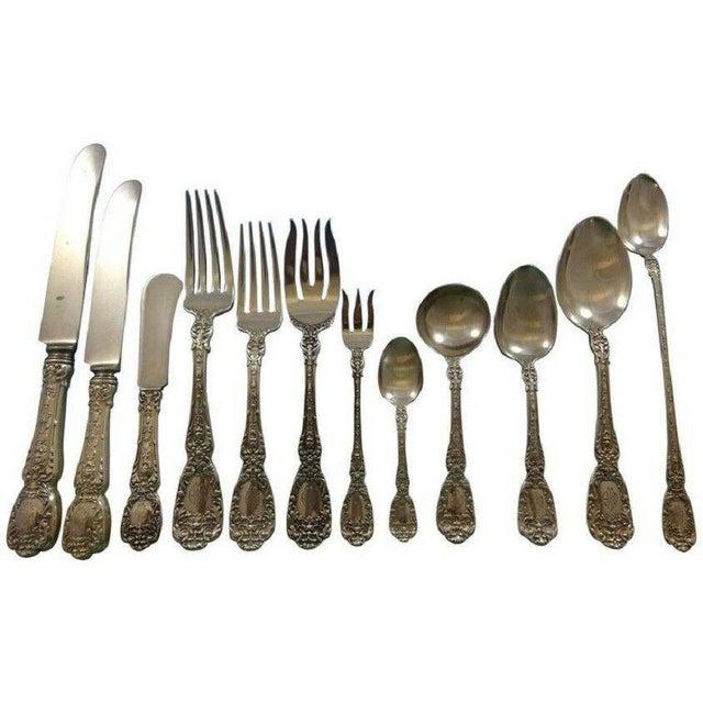 Florentine by Gorham Sterling Silver Flatware Set 12 Service 195 Pcs Dinner For Sale - Image 13 of 13