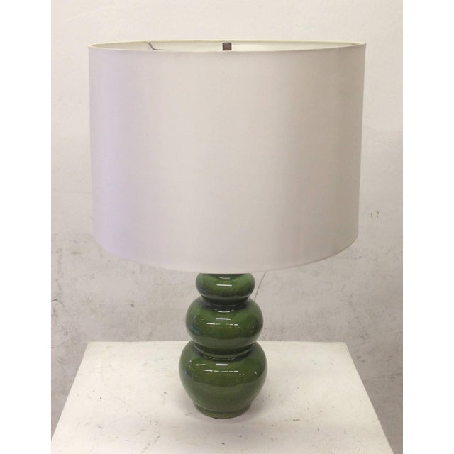 1960's Mid-Century Modern Ceramic Lamps - Pair - Image 3 of 6