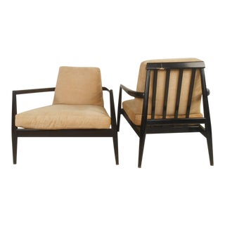 """Pair Edmond Spence """"Urban Aire"""" Lounge Chairs For Sale"""