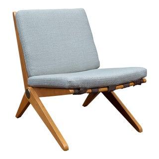 Pierre Jeanneret Scissor Chair for Knoll International, 1957 For Sale