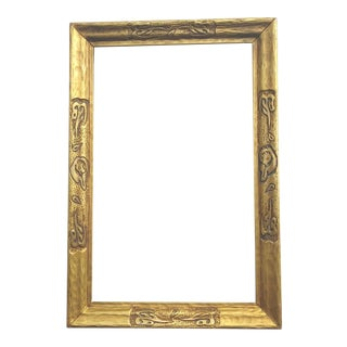 1920s Taos Style Gilt Frame For Sale