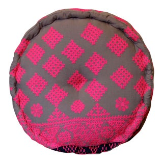 Slate Mathuravati Pouf For Sale