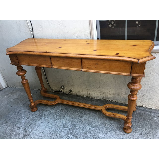 Vintage Style Pine Console - Image 2 of 10