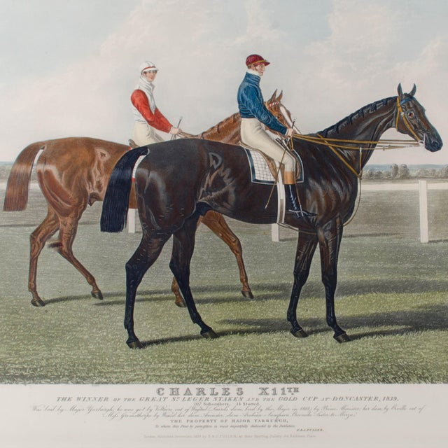 Charles Hunt Race Horse Engraving - Image 4 of 4