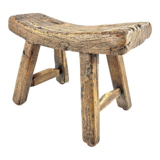 Primitive Rustic Handcrafted Stool