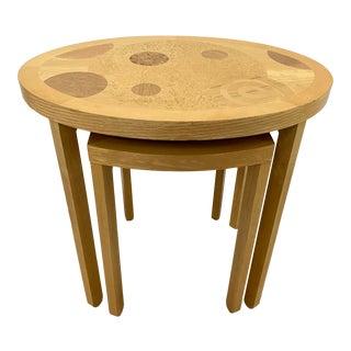 Vintage Baker Furniture Side Tables C.1970s - a Pair For Sale