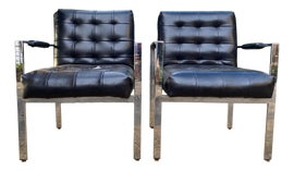 Image of Postmodern Corner Chairs