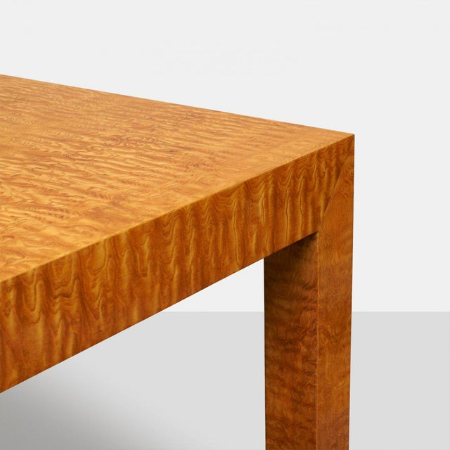 Pace Collection Milo Baughman Style Dining Table For Sale - Image 5 of 5