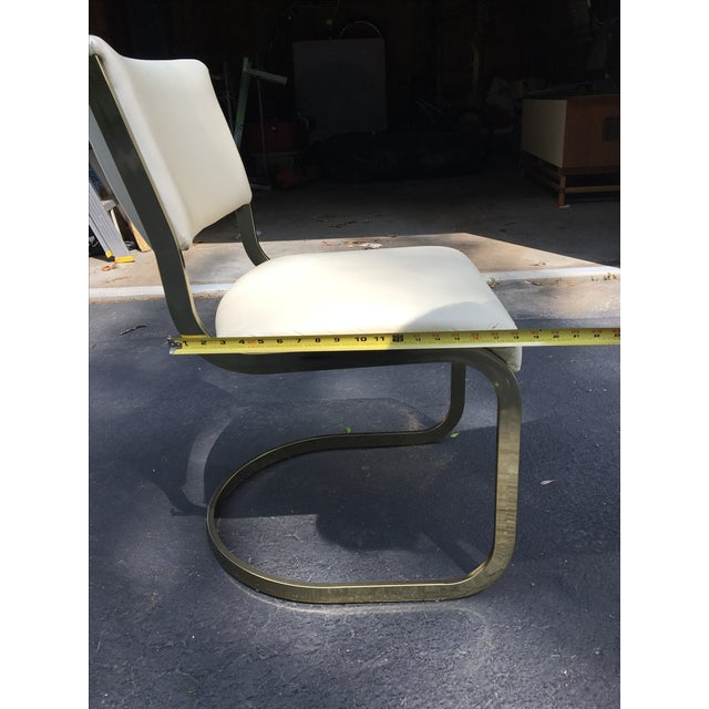 Brass & Glass Dining Set - Image 10 of 10