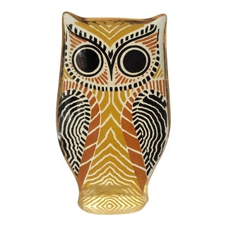 Mid-Century Acrylic Owl Sculpture by Abraham Palatnik For Sale