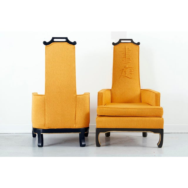 Pair of Chinoiserie Occasional Chairs in the Style of William 'Billy' Haines - Image 5 of 10