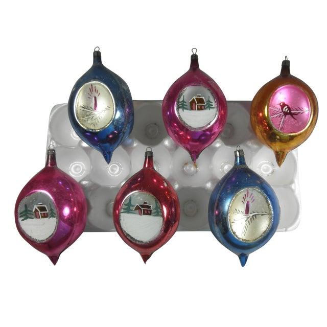 Polish Scenic Teardrop Ornaments - Set of 6 - Image 2 of 4