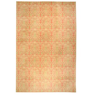 Antique Oversize Spanish Cuenca Carpet For Sale