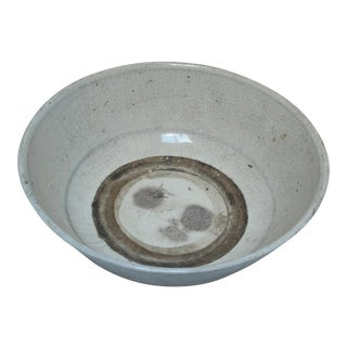 Song Dynasty Milky Celadon Deep Bowl For Sale