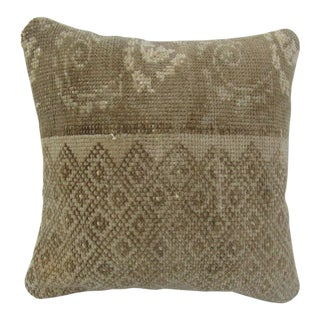 Handwoven Turkish Kilim Pillow Cover For Sale