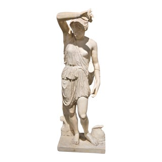 French Plaster Statue For Sale