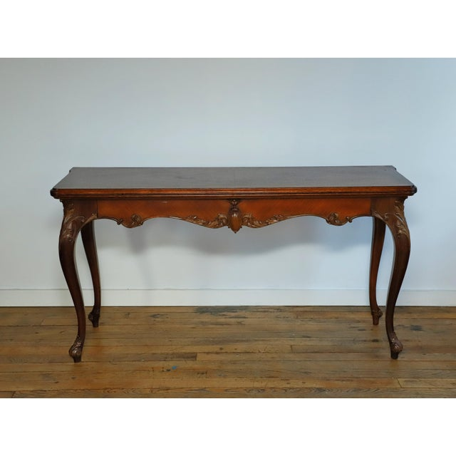 Early 20th Century Leonardo LIV-Dine Table From Waldorf Astoria For Sale - Image 13 of 13