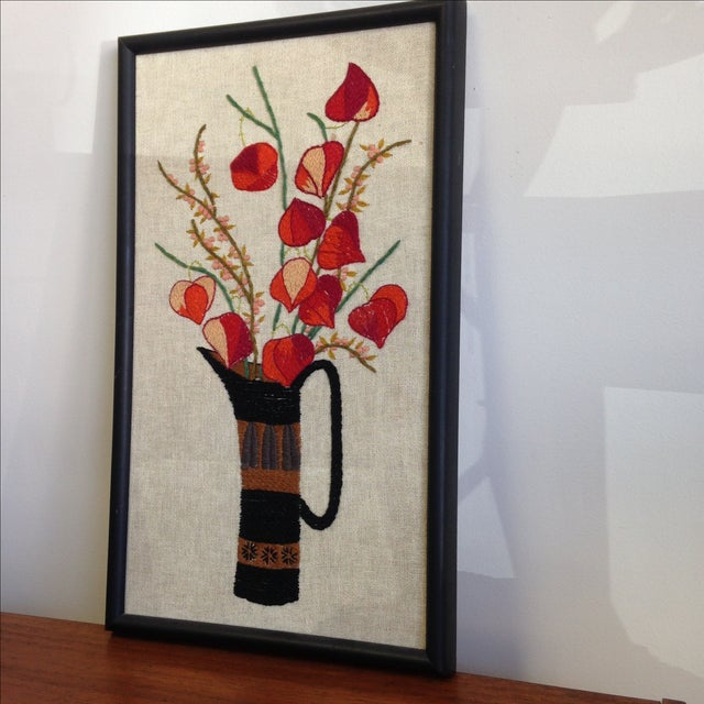 Flowers in a Vase Wall Art - Image 3 of 7
