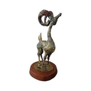 Bronze & Copper Brutalist Sculpture by Bill Lett For Sale