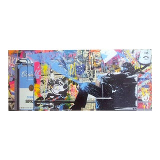 """Mr. Brainwash """" Spray """" Rare Limited Release Authentic Lithograph Print Pop Art Poster For Sale"""