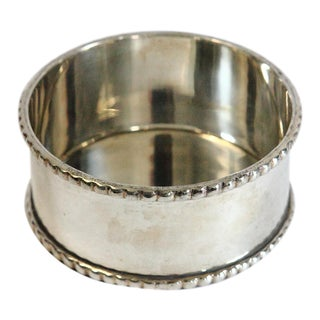 Late 20th Century Silver-Plated Wine Coaster For Sale