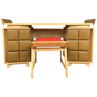 Gilbert Rohde for Herman Miller Vanity and Bench Set