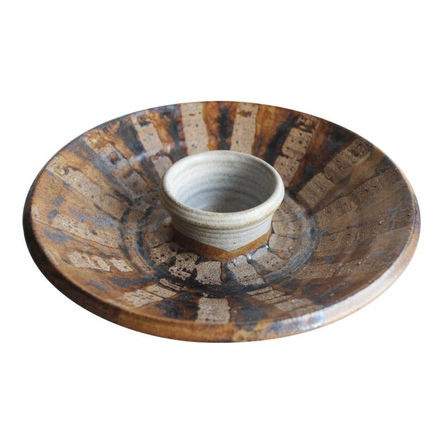 Studio Pottery Serving Dish - Image 1 of 4