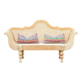 British Colonial Plantation Bench Preview