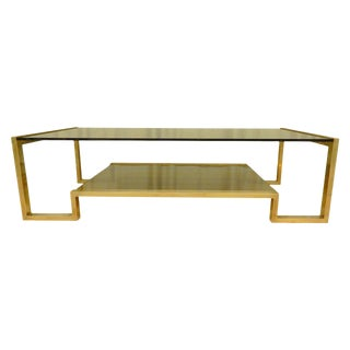 Guy Lefevre Mid-Century Coffee Table For Sale