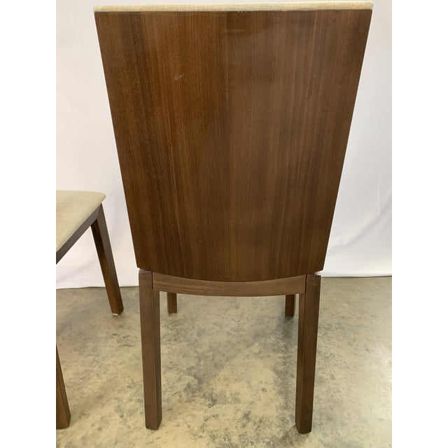 Danish Modern Skovby Extended Dining Table and Six Chairs -- 7 Pieces For Sale - Image 9 of 12
