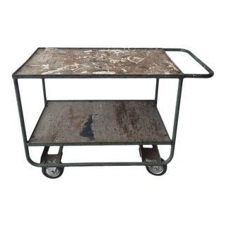 Industrial Mid-Century Cart, Trolley, circa 1950s