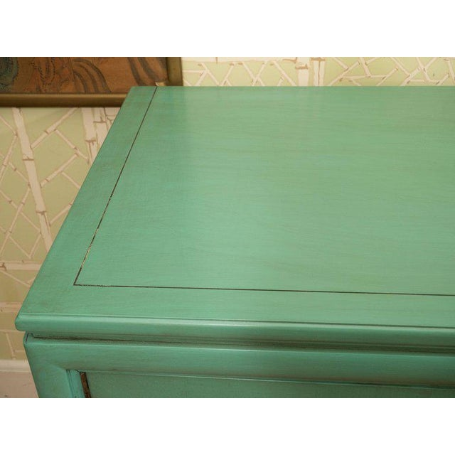 Thomasville Turquoise Chest - Image 4 of 11