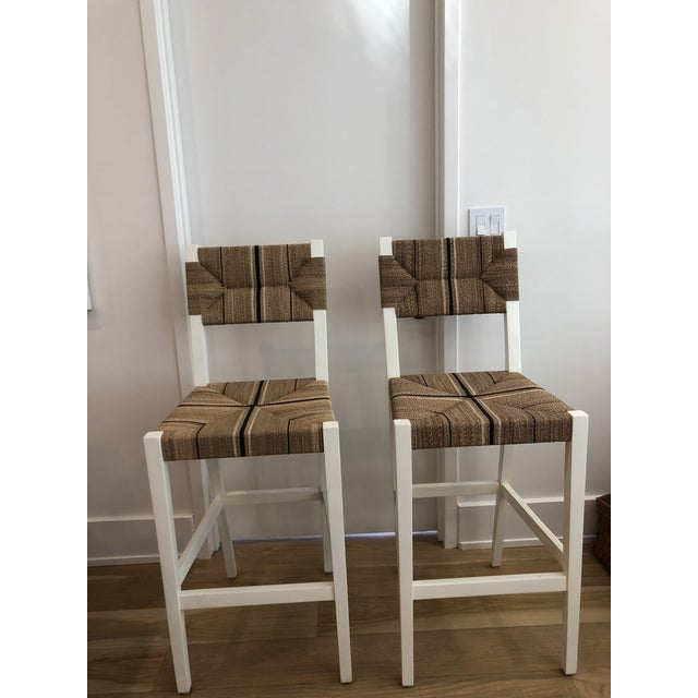 2010s Modern Carson Counter Stools- A Pair For Sale - Image 5 of 5